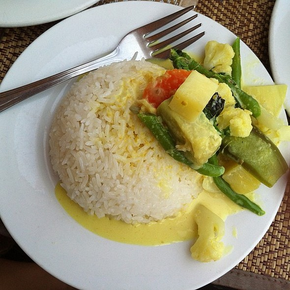 Vegetarian Green Curry @ Smile Restaurant