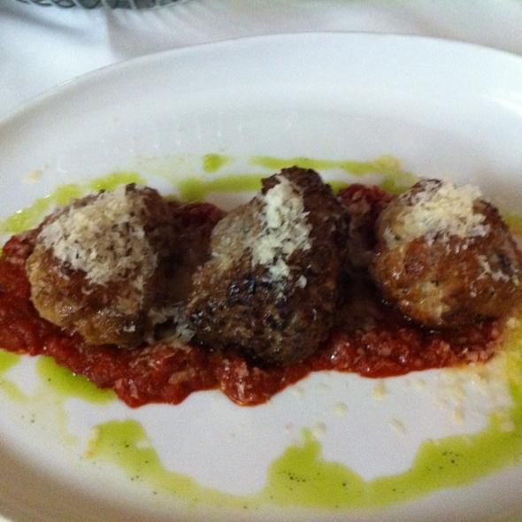 Duck, Lamb, Pork Meatballs @ Restaurant Tallent