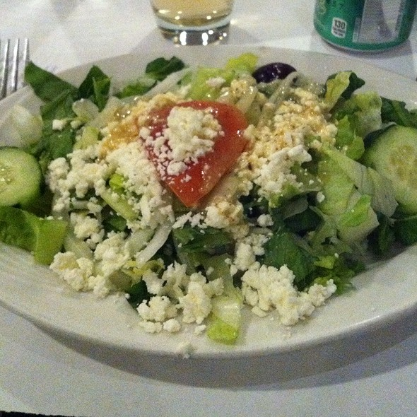 Greek Salad - The Greek Kitchen, New York, NY
