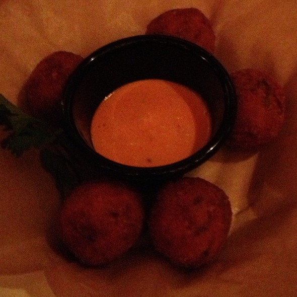 Risotto Fritters - Wild Olive