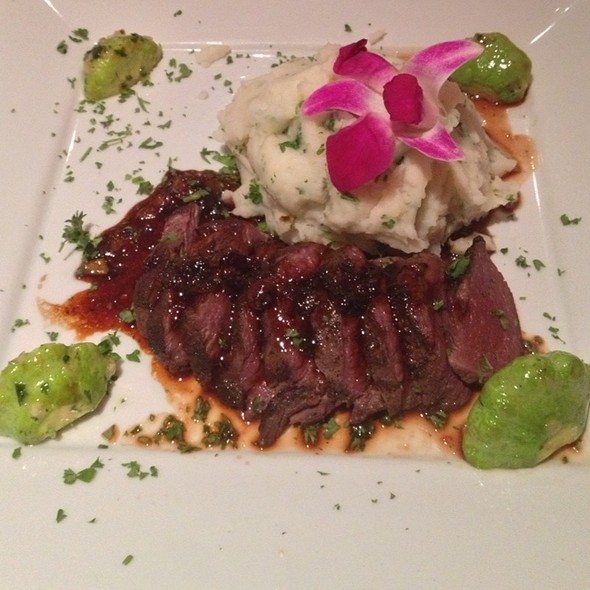 Wild Ostrich Loin - Manhattan Steak and Seafood, Orange, CA