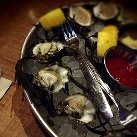 Kumamoto oysters - The Southern