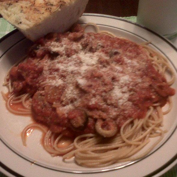 Spaghetti @ Zingula cucina