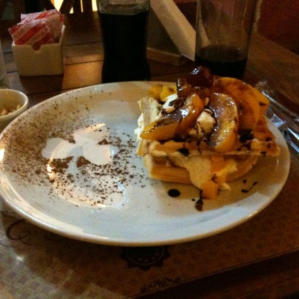 Peach Waffle @ William & The Monkey