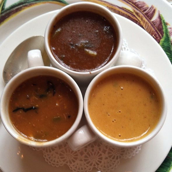 Trio Of Soups @ Commander's Palace Restaurant