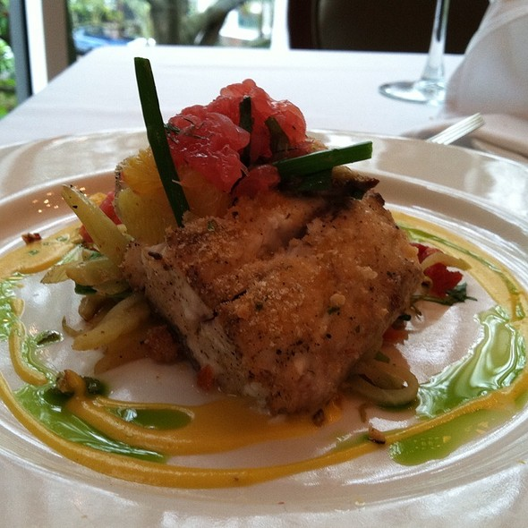 Red Snapper @ Commander's Palace Restaurant
