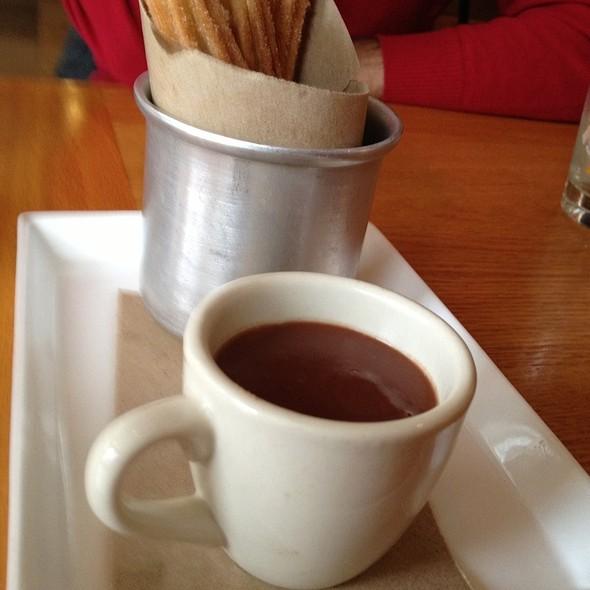Churros con Chocolate @ Boqueria