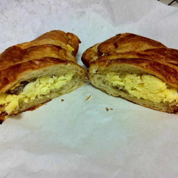 Breakfast Croissant @ Lacuisine Cafe