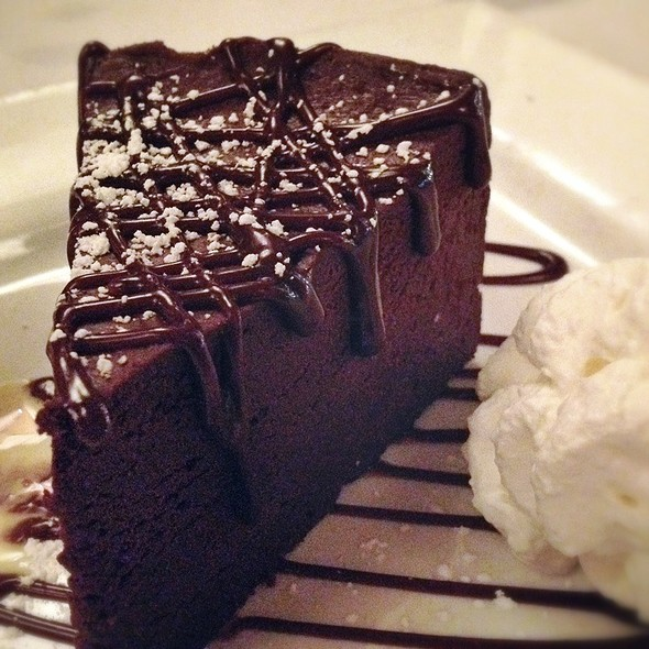 Naughty Chocolate Cake - Spencer's for Steaks and Chops - Omaha, Omaha, NE
