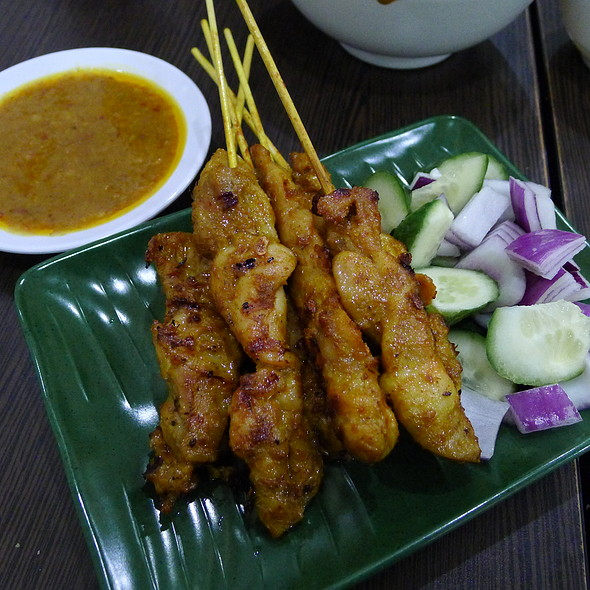 Satay Chicken  @ Albee's Kitchen