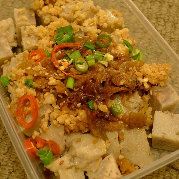 Malay Style Taro Cake @ Albee's Kitchen