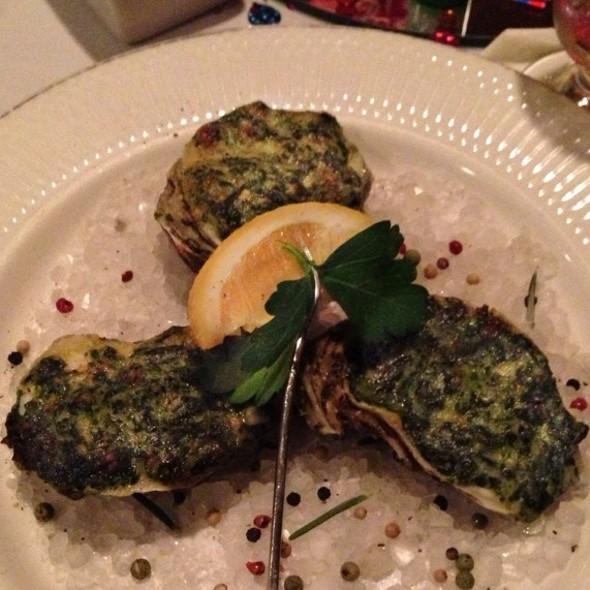 Oysters Rockefeller @ Eau Gallie Yacht Club