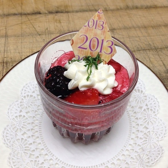 Sorbet With Mixed Berries @ Eau Gallie Yacht Club