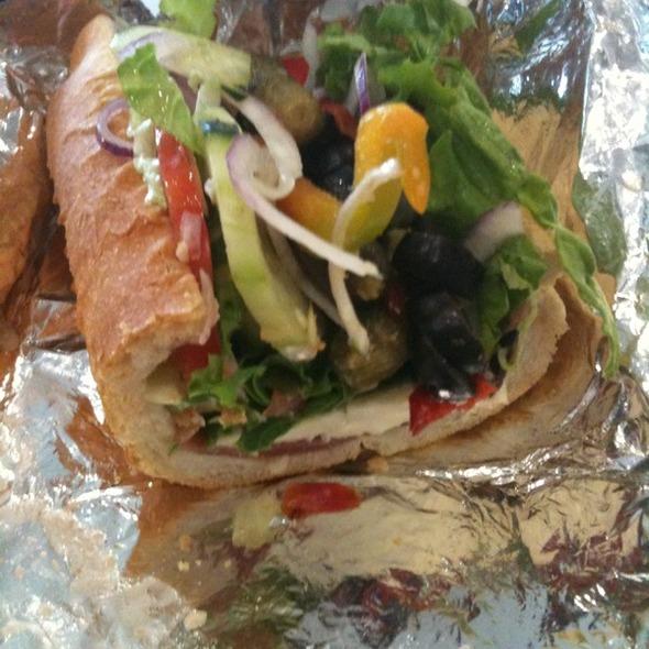 Prosciutto Mozzarella Sandwich @ La Sandwicherie