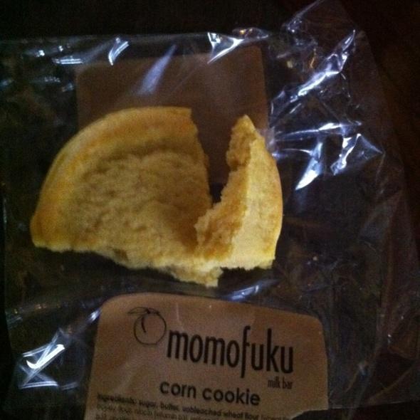 Momofuku Corn Cookie