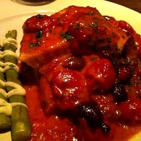 Salmon Special - Scusa Italian Ristorante, South Lake Tahoe, CA