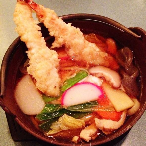 Nabeyaki Udon @ Mr Sushi in Brookline