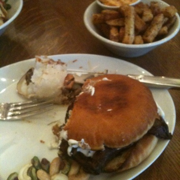 Lamb Shank Sandwich @ Illi New York, New York