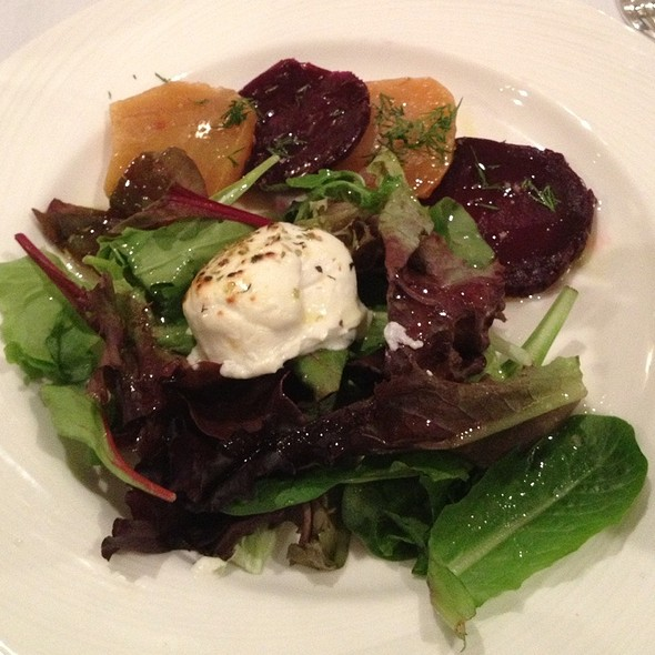 Beets and Goat Cheese - Nello, New York, NY