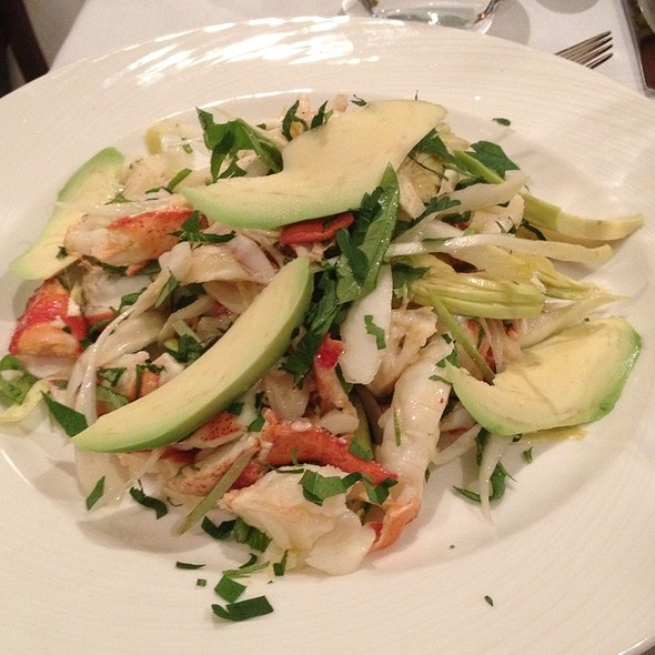Lobster Salad W/ Avocado, Citrus, Shaved Fennel W/ Meyer Lemon-tarragon Vinaigrette - Nello, New York, NY