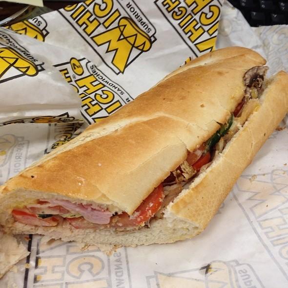 Turkey And Ham Sandwich @ Which Wich
