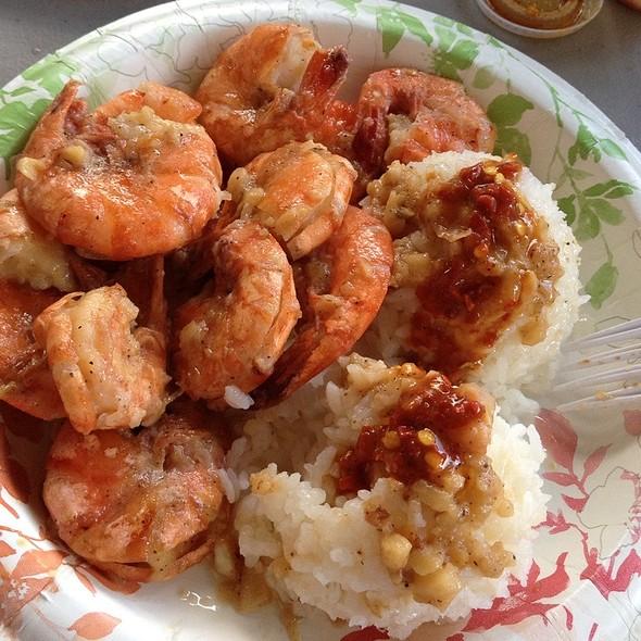 Shrimp Scampi, Hot Sauce On The Side. $13.50