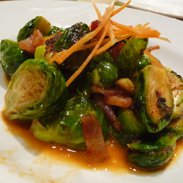 Roasted brussels sprouts @ Momofuku Noodle Bar