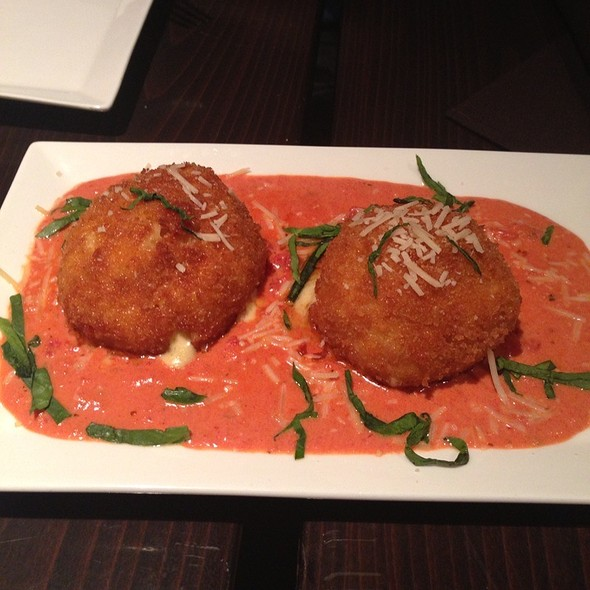 Fried Macaroni and Cheese Balls - The Society Restaurant & Lounge, Silver Spring, MD
