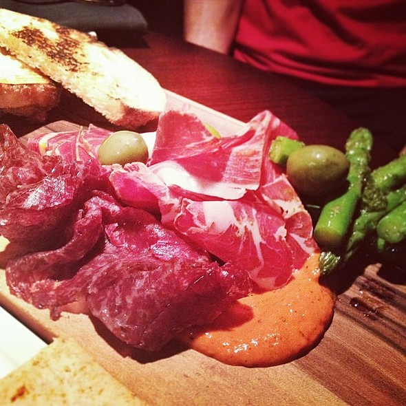 Charcuterie board @blackbyezard to start the night off.  @ BLACK by ezard