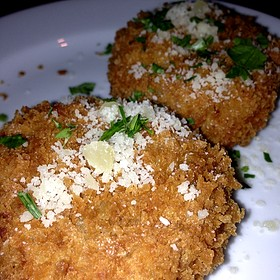 Applewood Bacon Potato Cakes - DOC Wine Bar - Lombard, Lombard, IL