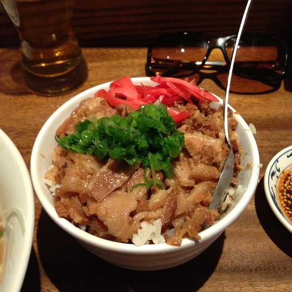 Pork Belly Rice Bowl
