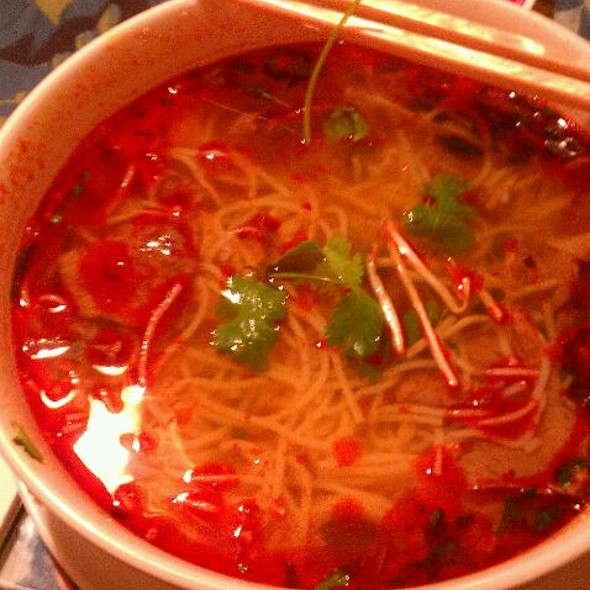 Spicy Beef Soup   ซุปเนื้อวัว @ Mai's Vietnamese Restaurant