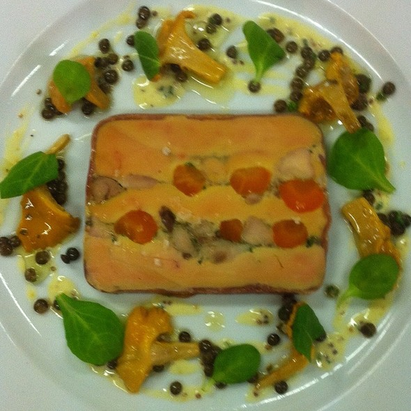 Terrine Of Foie Gras With Rabbit.