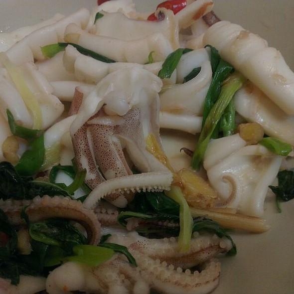 Stir Fried Squids @ Home