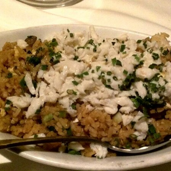 Crab Fried Rice - Wildfish Seafood Grille - Scottsdale, Scottsdale, AZ