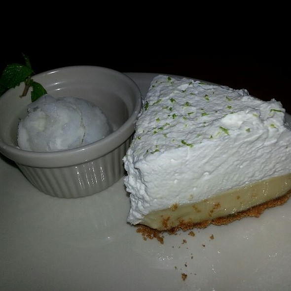 Key Lime Pie @ Kincaid's Fish Chop & Steak House: Ward Warehouse the