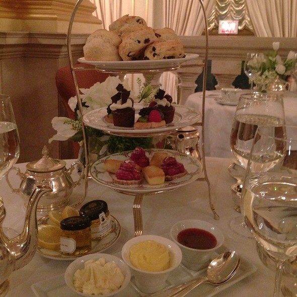 Afternoon Tea - Astor Court, New York, NY