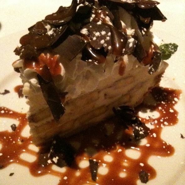 Banana Cream Pie @ Delmonico's Steakhouse
