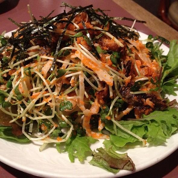 Salmon Skin Salad @ Tokkuri-Tei