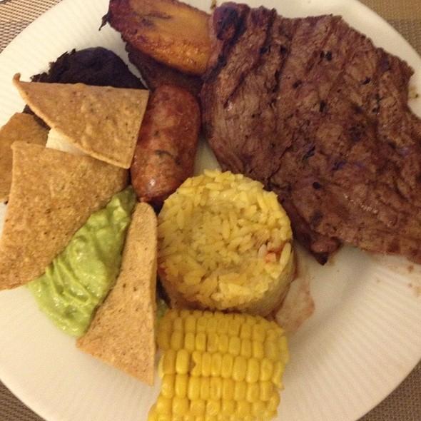 carne asada @ Barcelo Guatemala City