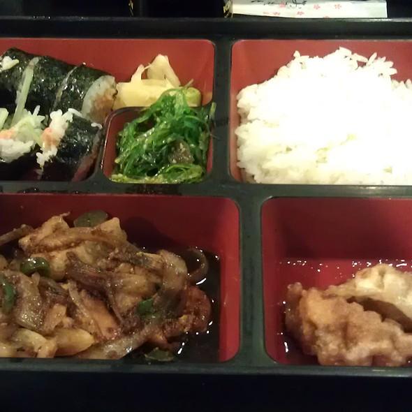 Spicy Ginger Pork @ Fujiya Japanese Restaurant