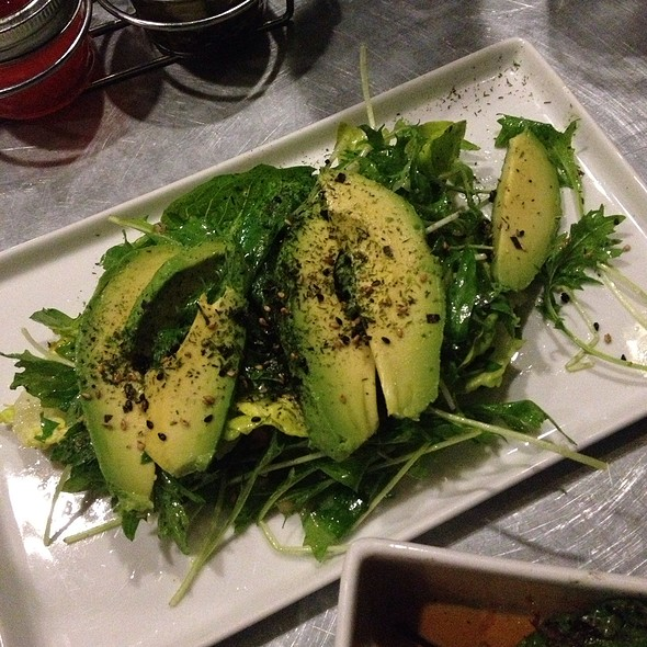 Mizuna Salad @ Jiao Palm Springs