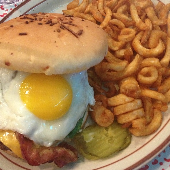 Bacon & Egg Cheeseburger
