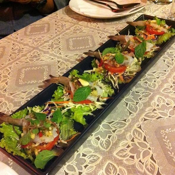 กุ้งแช่น้ำปลา   Fresh Shrimps in Fish Sauce @ [Ka-fé-vi-no]