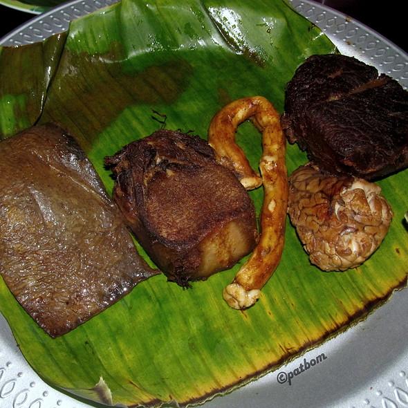 Jerohan Goreng | Fried Beef Offal @ Nasi Krawu Mbuk Su (Hj. Sufayah)