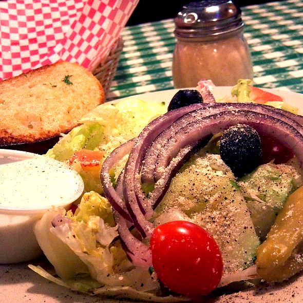 House Salad With Ranch Dressing @ Vinny's Italian Grill