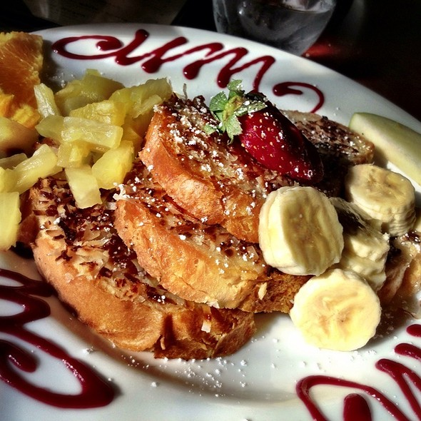Coconut French Toast - Isabel's Cantina, San Diego, CA