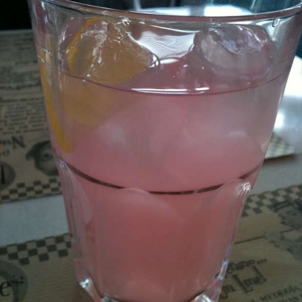Limonada Rosa @ Peggy Sue