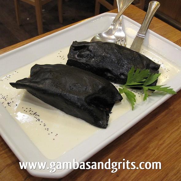 Black Squid Ink Cannelloni @ Casa Lucas