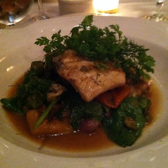 Grilled Coastal Stripe Bass - Nana's Restaurant, Durham, NC